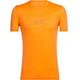 Icebreaker Tech Lite Cadence Shortsleeve Shirt Men orange